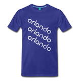 ORLANDO city T-shirt: Vintage-style distressed graphic on a premium unisex shirt