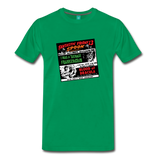 Horror movies from 1959 - on a premium unisex T-shirt - kelly green