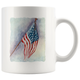US Flag mug - American flag from 1918 (World War I)