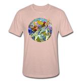 Unisex Heather Prism T-shirt - heather prism peach