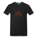 You light up my life on a premium unisex T-shirt - black
