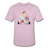 Unisex Heather Prism T-shirt - heather prism lilac