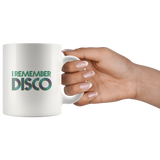 I remember disco mug - '70s nostalgia!