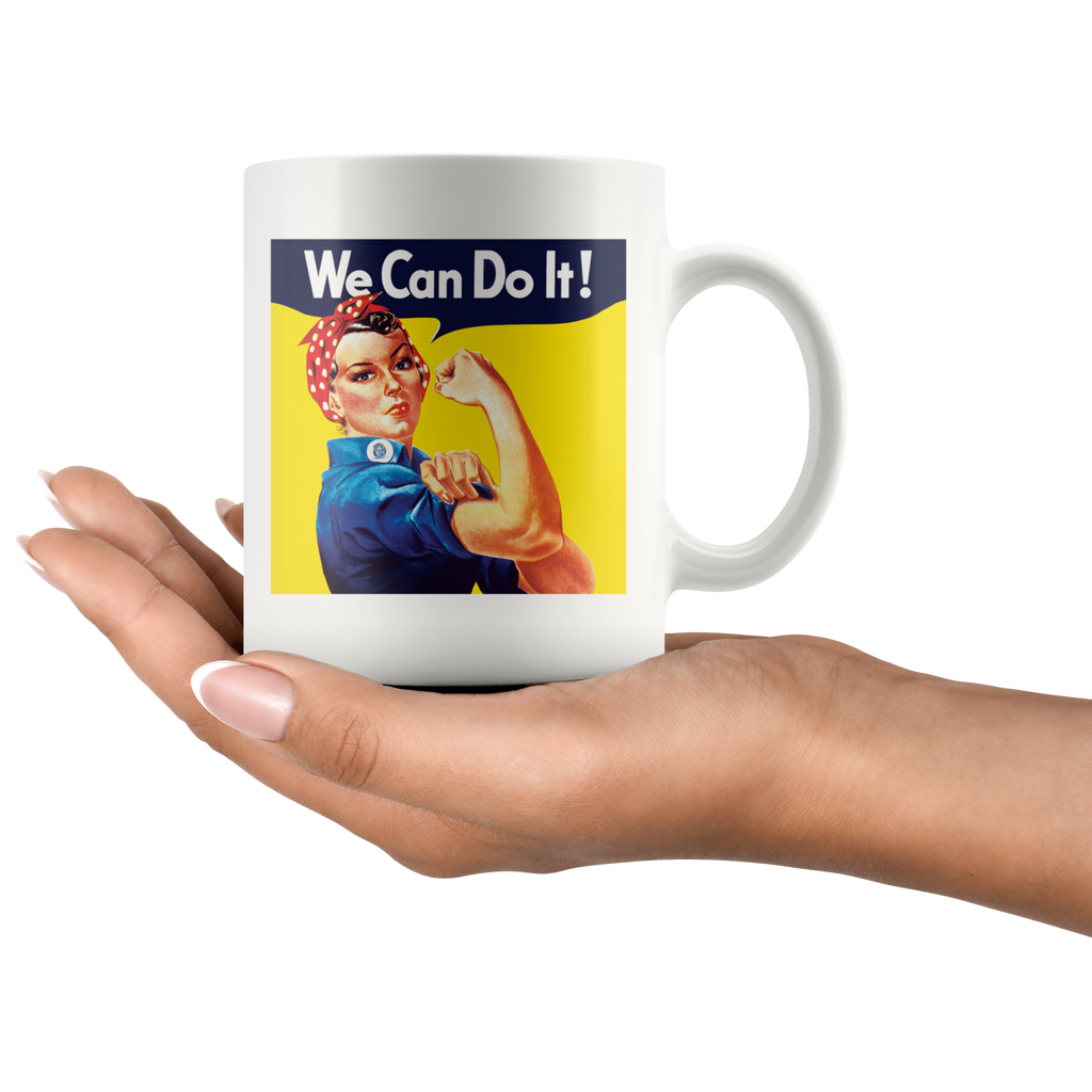 Rosie the Riveter We can do it! 11-ounce mug