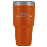 Pure imagination 30-ounce vacuum tumbler cup for big, cold drinks - in 12 colors