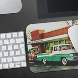 Classic! A mousepad featuring a '58 Dodge pickup