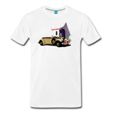 Chrysler Imperial 80 - A classic car from 1927 on a unisex T-shirt - white