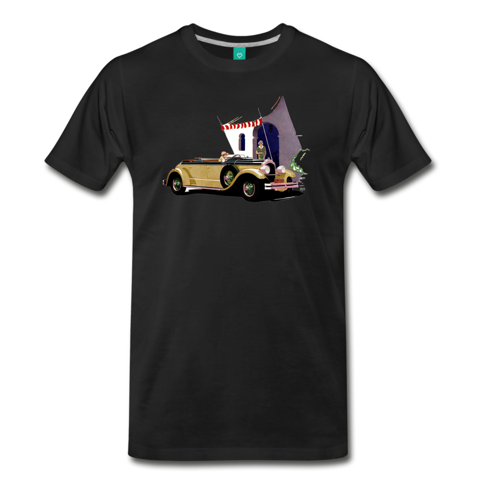 Chrysler Imperial 80 - A classic car from 1927 on a unisex T-shirt - black