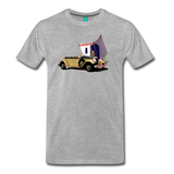 Chrysler Imperial 80 - A classic car from 1927 on a unisex T-shirt - heather gray