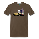 Chrysler Imperial 80 - A classic car from 1927 on a unisex T-shirt - noble brown