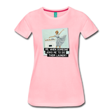 Funny women's T-shirt: Do the laundry - premium women's short-sleeve tee - pink