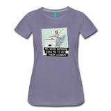 Funny women's T-shirt: Do the laundry - premium women's short-sleeve tee - washed violet