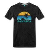 JAMAICA T-shirt: Vintage-style distressed graphic on a premium unisex shirt - charcoal gray ARIZONA state T-shirt: Vintage-style distressed graphic on a premium unisex shirt - charcoal gray