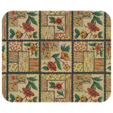 1940s-style pattern mousepads: Flowers - Makes a great gift for moms & grandmothers