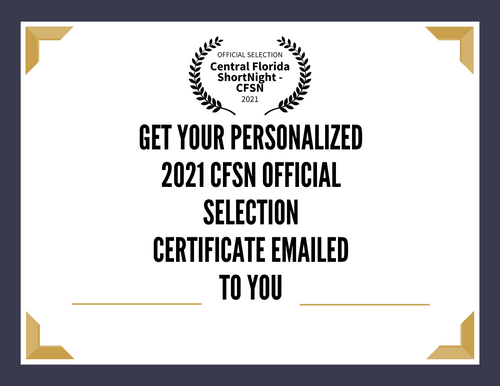 2020 CFSN Official Selection Certificate