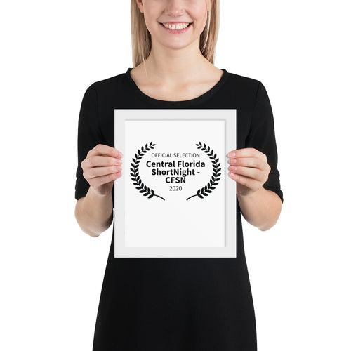 Customizable Framed poster