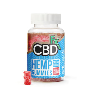 CBDfx Hemp Gummies - 5mg - 60ct Bottle