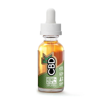 CBDfx Hemp + MCT Oil Tincture 30mL - 500mg