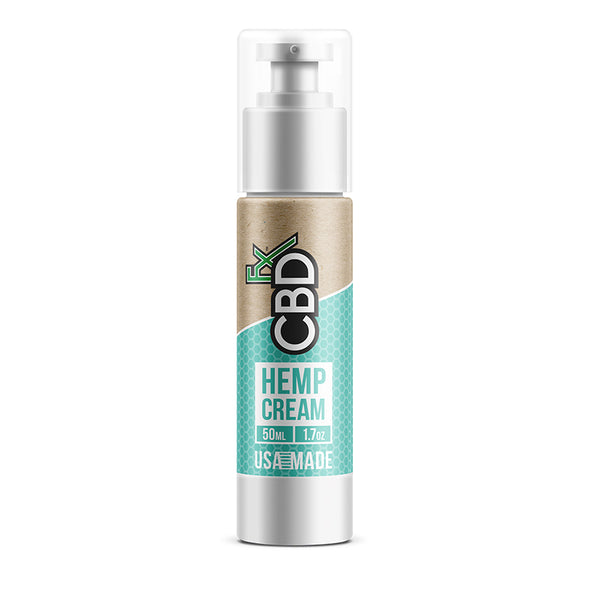 CBDfx Hemp Cream 50ml-150mg