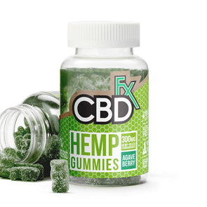 CBDfx Hemp Gummies - Tumeric & Spirulina - 5mg - 60ct Bottle