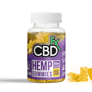 CBDfx Hemp Gummies - Melatonin -  5mg - 60ct Bottle - New!