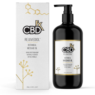 CBDfx Rejuvediol Massage Oil - 200mL - 150mg