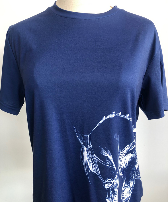 Children's Casual T Shirt - Navy
