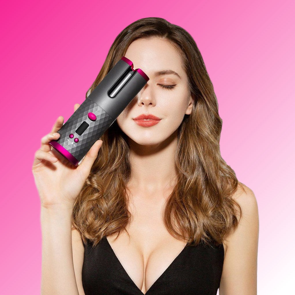 How to Use the MagicRod™ Cordless Auto Curler from Padcist®