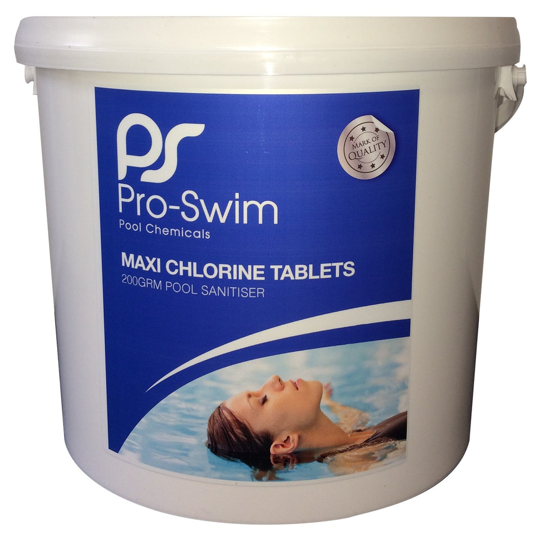 Pro-Swim Maxi Plus Chlorine Tablets - 5kg