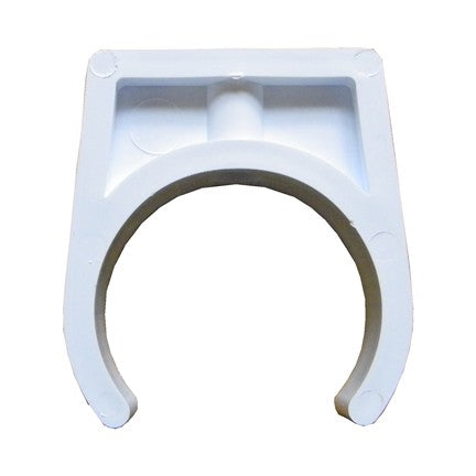 1.5in Pipe Clip White (White)