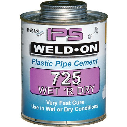 Wet R Dry Fast Cure Cement 250g