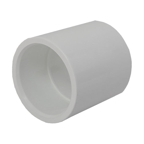 2in Socket connector P P White