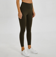 Menorca 7/8 High Waisted leggings Olive Green
