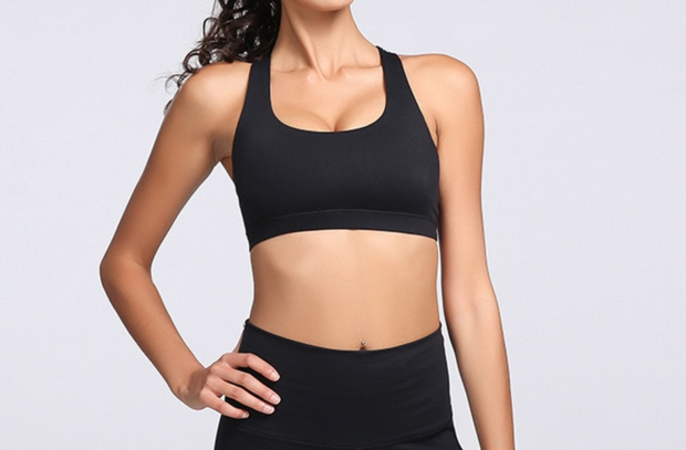 Santiago Bra Top Black