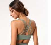 Olbia Bra Top Teal Green