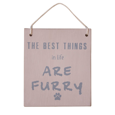 Furry Plaque