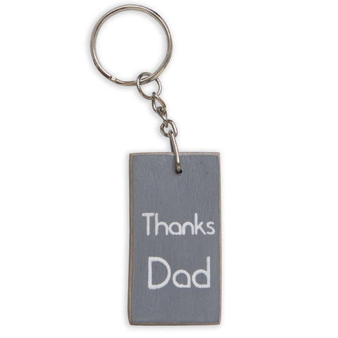 Thanks Dad Keyring