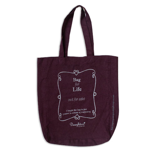 Daughters Bag For Life Tote Bag (2 colours)