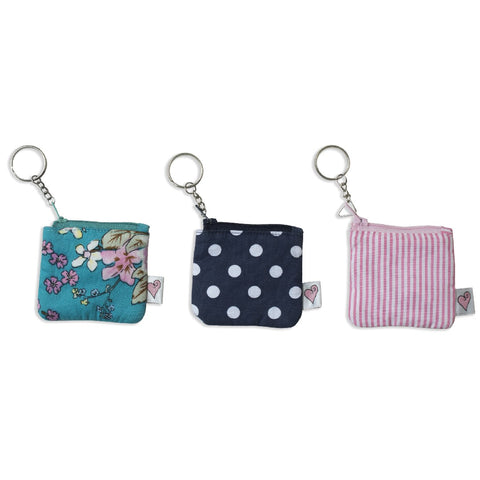 Coin Keyring Purse (3 colours)