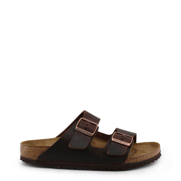 Birkenstock - ARIZONA_OILED-LEATHER - brown / EU 35 - Shoes Flip Flops - racé athleisure