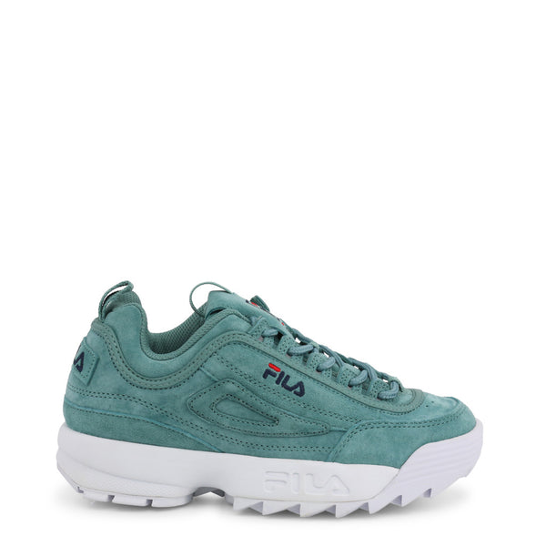 Fila - DISRUPTOR-S-LOW_1010605 - green / EU 36 - Shoes Sneakers - racé athleisure