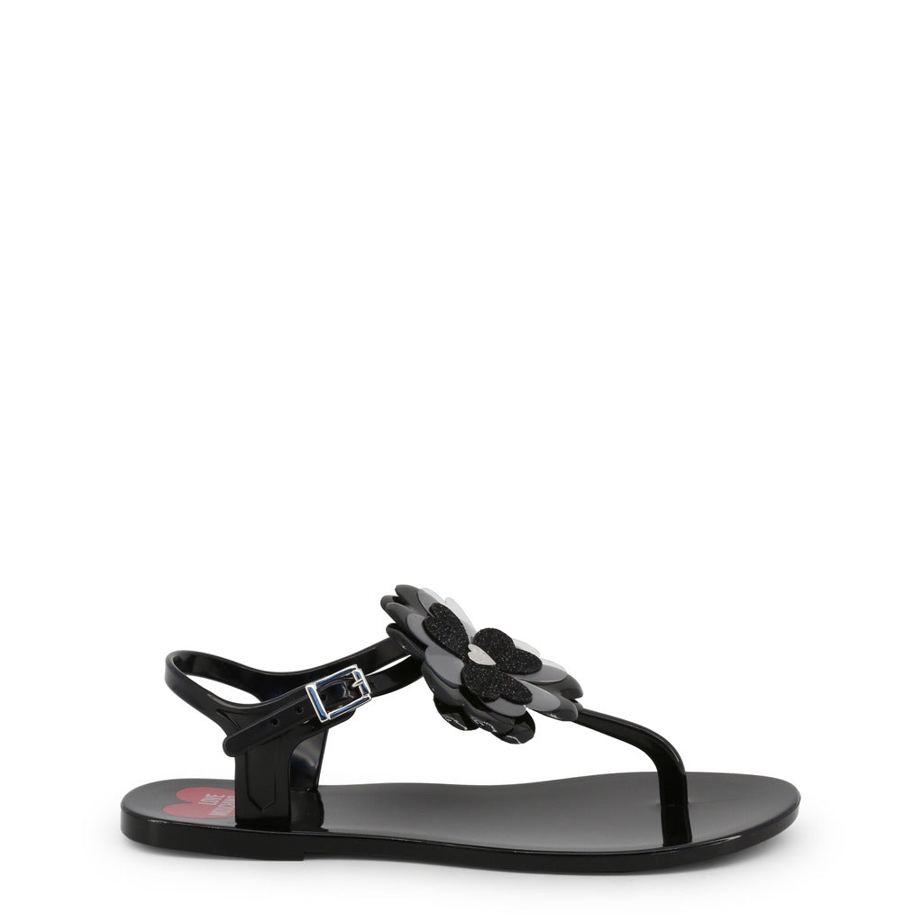 Love Moschino - JA16011G17IT - black / EU 36 - Shoes Flip Flops - racé athleisure