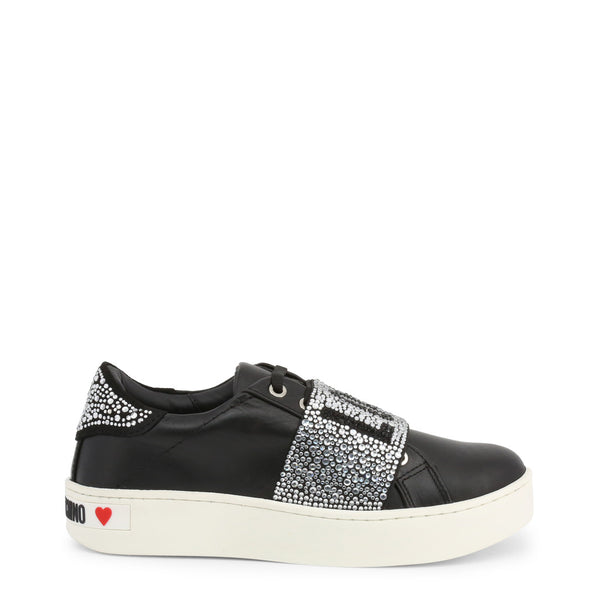 Love Moschino - JA15123G18IF - black / EU 36 - Shoes Sneakers - racé athleisure