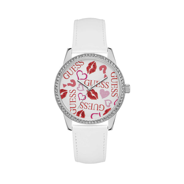 Guess - W1206 - white / NOSIZE - Accessories Watches - racé athleisure