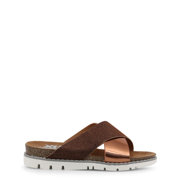 Xti - 48115 - brown / EU 36 - Shoes Flip Flops - racé athleisure