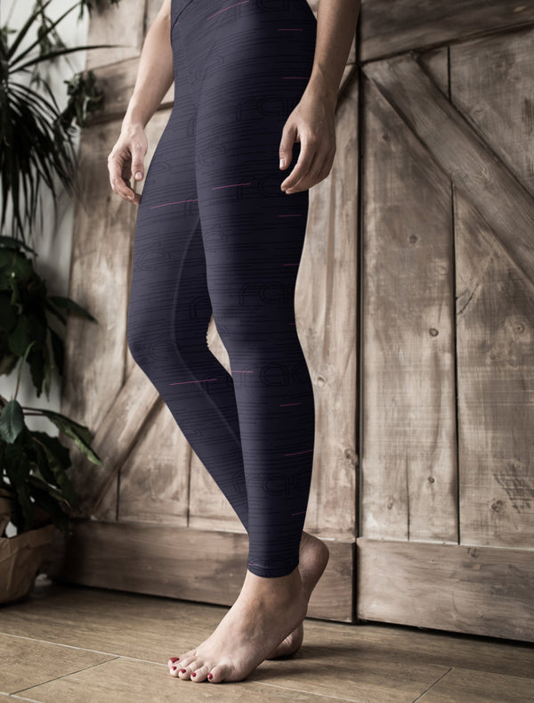racé PARKS MIDNIGHT low waist legging - Black / XS - - racé athleisure