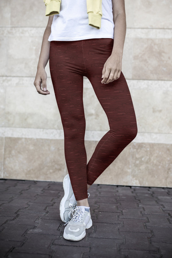 racé PARKS RUBY low waist legging - Brown / XS - - racé athleisure