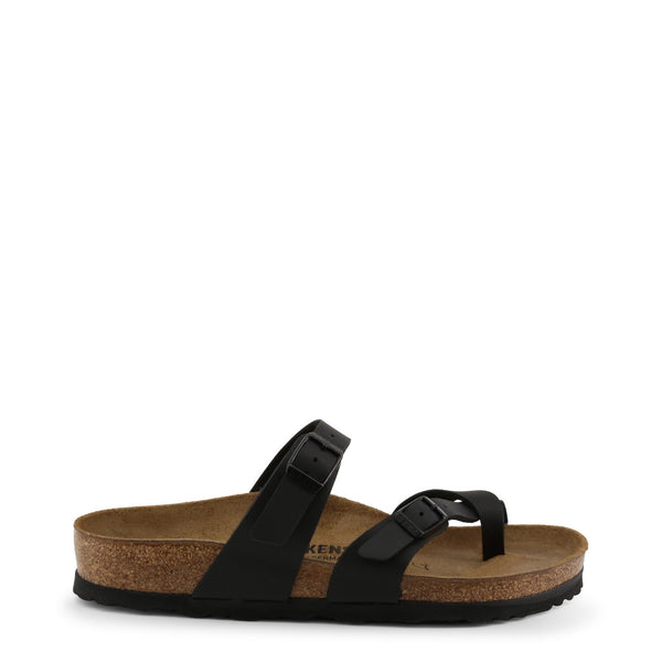 Birkenstock - MAYARI_OILED - black / EU 37 - Shoes Flip Flops - racé athleisure