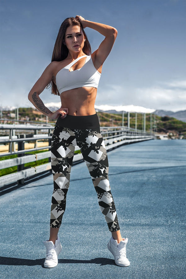 racé Franklin Black leggings high waisted - Black / XS - - racé athleisure