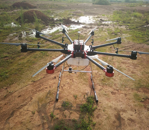 TYI8-10 8-axis 10L Agricultural Drone
